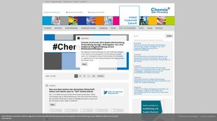 Chemie desktop screen